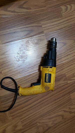 DE Walt 120 V hammer drill for Sale in Allegan, MI