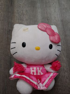Cheerleader hello kitty plushie for Sale in Tolleson, AZ