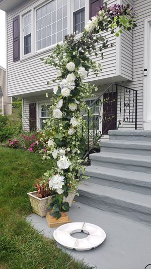 Silk Flower Wedding Arch for Sale in VERNON ROCKVL, CT