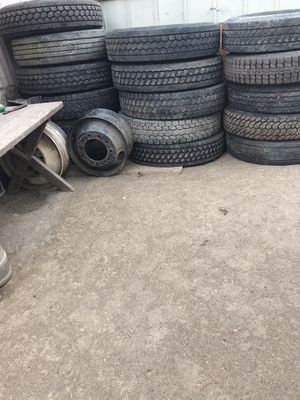 Semi tires .... yantas de trailer for Sale in Denver, CO
