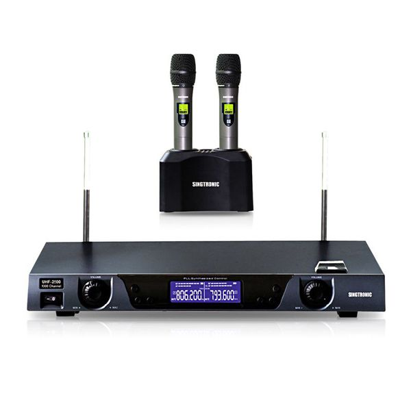 Singtronic UHF 2500 wireless microphone built in Lithium battery