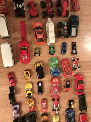 52 assorted kids toy vehicles for Sale in Los Angeles, CA