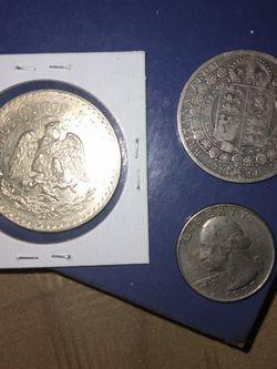 🇲🇽 Mexico And British 🇬🇧 Silver Coins for Sale in Silverado,  CA