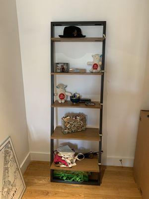 West Elm ladder shelf storage for Sale in New York, NY