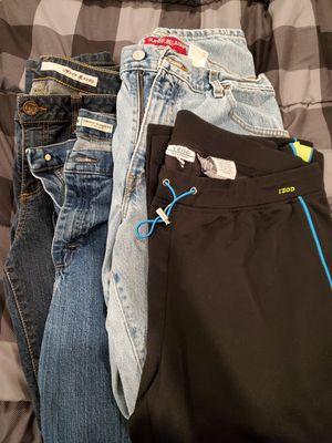 (3) Denim Jeans SIZE 12 L (1) IZOD L YOGA for Sale in Barnegat Township, NJ