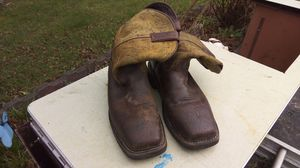 Justin steel toe work boots size 8.5 D style E; wk 6488 for Sale in Shoreline, WA
