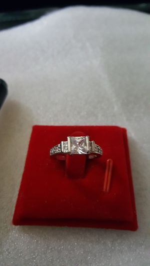 18k white gold filled ring size 6 for Sale in Staten Island, NY