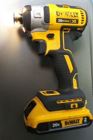 DEWALT 20V XR 3 SPEED IMPACT WITH BATTERY!! for Sale in San Antonio, TX