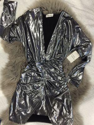 Metallic dress size small/medium new 16$ for Sale in Compton, CA