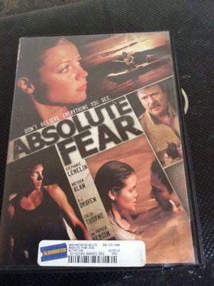 Absolute fear DVD for Sale in Seattle, WA