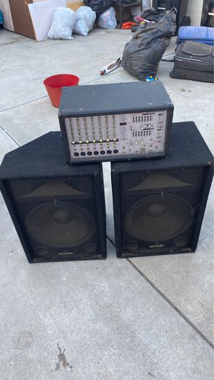 Phonic 740 and Phonic SEM715 bundle $350 for Sale in Los Angeles, CA