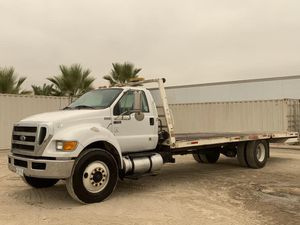 2012 FORD F750 EQUIPMENT CARRIER TRUCK for Sale in Colton, CA