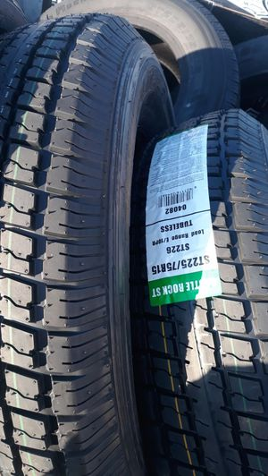 st225 75 r15 trailer tires 10 ply 4new$220 for Sale in Los Angeles, CA