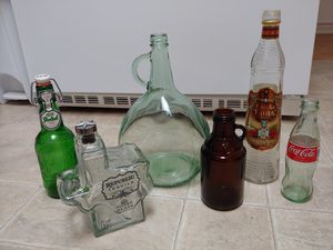 Collectable glass bottle collection for $10 for Sale in Austin, TX