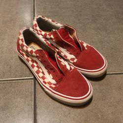 Red Checkered Vans for Sale in Fresno,  CA