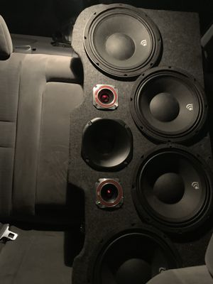 4 tens two tweeters n one horn everything is new for Sale in East Hartford, CT