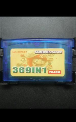 Nintendo Gameboy Advance 369 in 1 games holds save for Sale in Santa Ana, CA