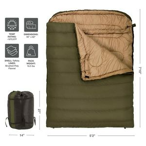 TETON Sports Mammoth Queen-Size 0°F Sleeping Bag (USED) for Sale in Portland, OR