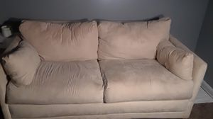 Beige futon for Sale in Cleveland, OH