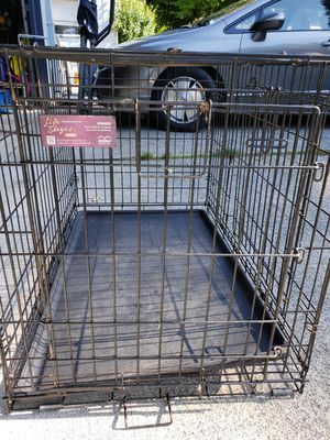 Large dog wire crate for Sale in Lacey, WA