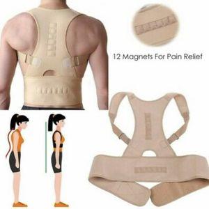 Men and Women Adjustable Posture Corrector Back Shoulder Support Correct Brace Belt - Nude / Skin Color (S, M, L, XL) for Sale in Ontario, CA