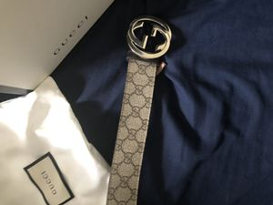 Gucci designer belt for Sale in Duboistown, PA