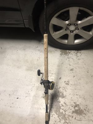 """Accurate Xnergy 7'9"""" rod Medium Action 15-30lbs with Daiwa Seagate SGT 35H reel fishing combo Excellent condition for Sale in Lutz, FL"""
