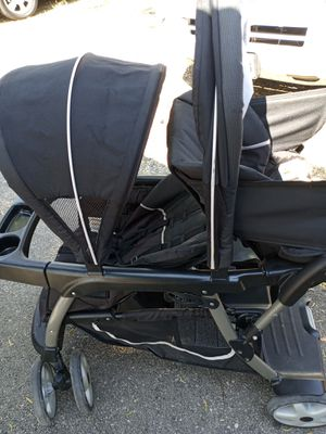 Double stroller Graco 65$ single stroller Recaro with car seat and base 50$ single stroller with car seat and base Graco 30$$ for Sale in San Antonio, TX