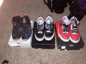 Quarantine Bundle 🔥🔥 Rookie galaxys and 2 Jordan 3's for Sale in Silver Spring, MD