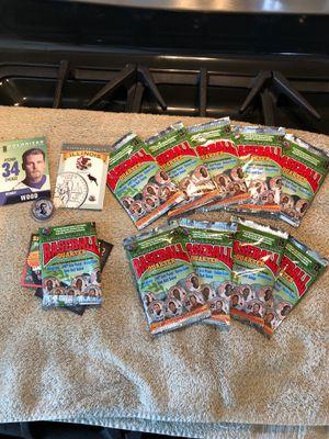 Baseball card coin MLB 10 lot for Sale in Edmonds, WA
