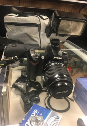 Nikon Digital Camera D70S w/ bag and flash attachment for Sale in Little Rock, AR