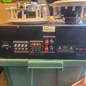 Stereo Receiver And Ceiling Speakers for Sale in San Diego, CA