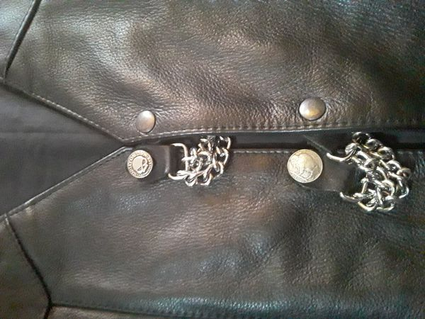 PnC Leather Motorcycle Vest