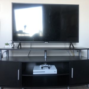 "Tv Stand, Black, 50"" for Sale in Seattle, WA"