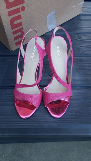 LIKE NEW Nine West Hot Pink Heels for Sale in Alexandria, VA