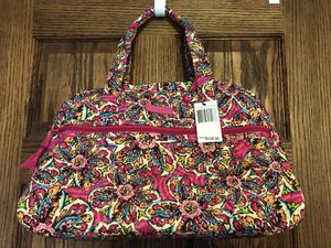 VERA BRADLEY COMPACT TRAVEL BAG**BRAND NEW WITH ORIGINAL PACKAGING AND TAGS for Sale in Rocky River, OH