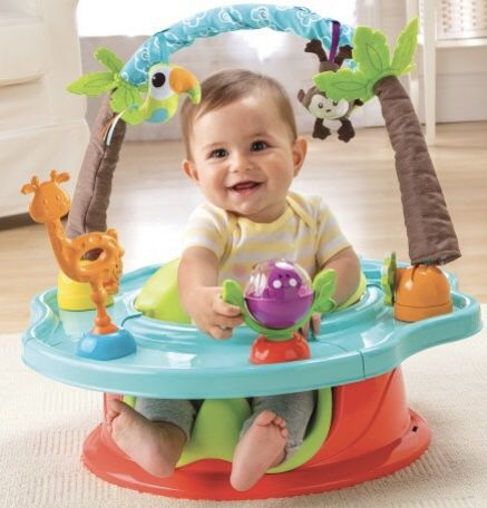 Summer Infant® Deluxe Superseat™ 3-in-1 Booster, Activity, and Floor Seat