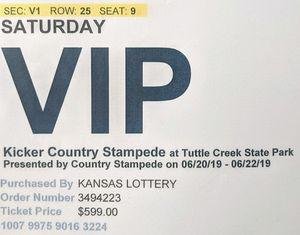 V.I.P (Jason Aldean) CountryStampede for Sale in Wichita, KS