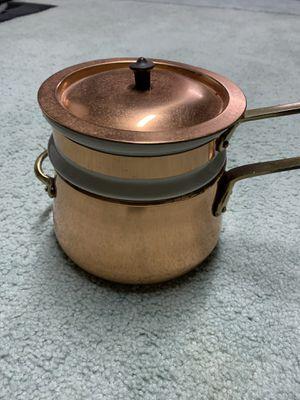 Copper Fondue Pot for Sale in Trenton, NJ