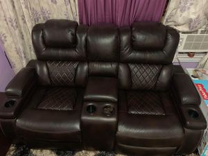 Warnerton Reclining Sofa and Loveseat for Sale in Queens, NY