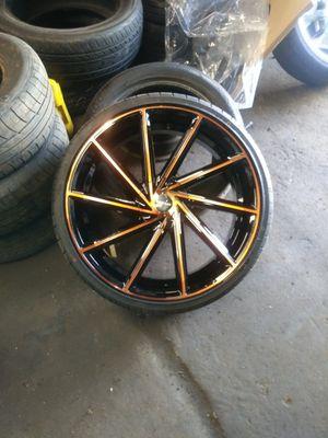 22 inch 2017 Kronik wheels for Sale in Chicago, IL