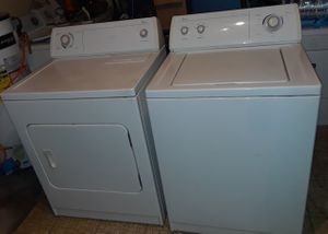 Beautiful Matching WHIRLPOOL Washer Dryer Set! Delivery Available!! FREE Assembly of Appliance upon Arrival!! Warranty also Provided!! for Sale in Portsmouth, VA