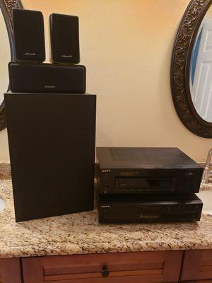 Sony and Polk Audio Surround Sound for Sale in Apopka, FL