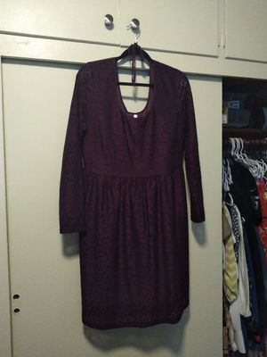 Women's extra large purple lace dress for Sale in Covina, CA