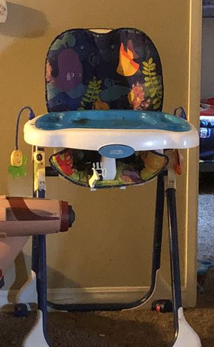 Baby high chair with toys for Sale in San Diego, CA