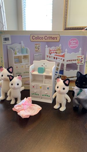 FREE CALICO CRITTERS - porch pick up for Sale in Fontana, CA