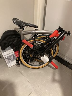 Brompton x CHPT3 Limited Edition Folding Bike Bicycle NEW w/ Backpack for Sale in Seattle, WA
