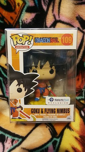 Funko Pop Dragon Ball Goku & Flying Nimbus Galactic Toys & Collectibles Exclusive #109 for Sale in Cypress, CA