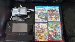 Wii U with games for Sale in Sturbridge, MA