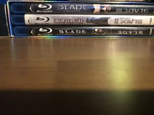 Blade Trilogy on Blu-Ray Box Set for Sale in Los Angeles, CA